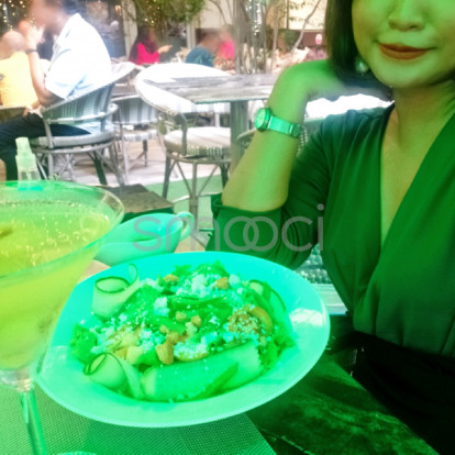 Erin – Going Green! I had  lunch under a green umbrella with a beautiful and wise co-worker. Want to make it a ménage à trois? Send me a message so it can be arranged.