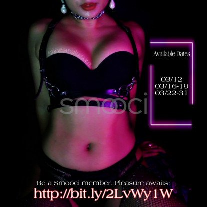 Erin – As a highly sought after courtesan, I am always booked in advance. Join my suite of lovers, book in advance. ;)